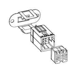 LOGIC Module Right Angle Mounting Bracket